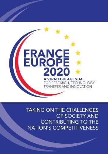 """""""France Europe 2020"""" Strategic Agenda - Mission pour la Science et ..."""