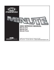 2004 SERVICE MANUAL - Spoke N' Word Cycles