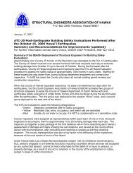 ATC-20 Post-Earthquake Building Safety Evaluations Performed ...