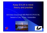 Keep EVLW in mind - PULSION Medical Systems SE