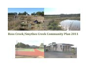 Ross Creek/Smythes Creek Community Plan 2011 - Golden Plains ...