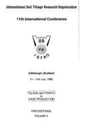 International Soil Tillage Research Organization