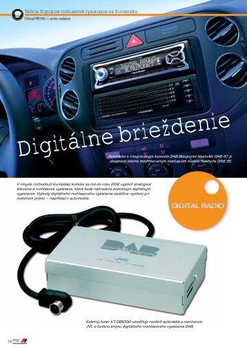 Digitálne brieždenie - AutoTuning.sk