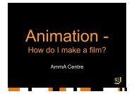 How do I make a film? - AmmA Centre