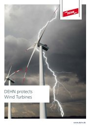 DEHN protects Wind Turbines