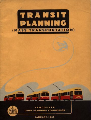 Transit Planning (Mass Transportation)