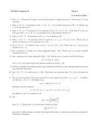 Variable Compleja II Tarea 1 4 de febrero 2013 1. Sea u : C → R ...