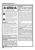 Operating Instructions - Panasonic FTP - Page 2