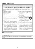 Operating Instructions - Panasonic FTP - Page 3
