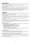 Operating Instructions - Panasonic FTP - Page 7