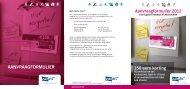 Aanvraagformulier kortingsbon koelkast of wasmachine - Eandis