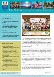 TE VEA n°39.pdf - Haut-Commissariat de la république en ...