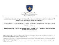 udhëzimi administrativ qrk nr. 05/2013 - Republika e Kosovës - Zyra ...