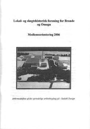 Lokal- og slregtshistorisk forening for Brande og ... - Brande Historie