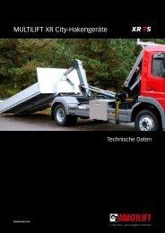 MULTILIFT XR City-Hakengeräte - HIAB Multilift Rhein-Main GmbH
