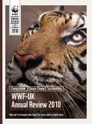 WWF-UK Annual Review 2010