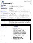 Material Safety Data Sheet - PFERD - Page 3