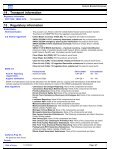 Material Safety Data Sheet - PFERD - Page 6