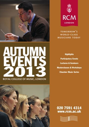 eveNTs - Royal College of Music