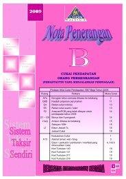 Nota Penerangan B 2009 - Lembaga Hasil Dalam Negeri