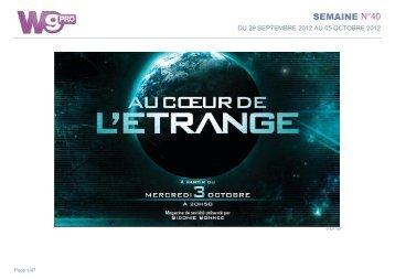 SEMAINE N°40 - Groupe M6