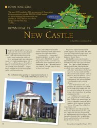 NEW CASTLE - Cooperative Living Magazine