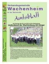 Tourist-Information - Verbandsgemeinde Wachenheim