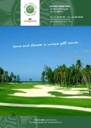 Download the brochure to know all facilities of the Moorea Green ...