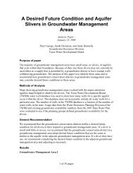A Desired Future Condition and Aquifer Slivers in Groundwater ...