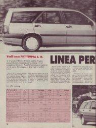 Prenesi PDF testa Fiat Fiat Tempra S. W. - Avto Magazin