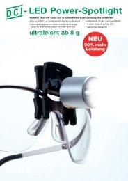 - LED Power-Spotlight - DCI - Dental Consulting GmbH