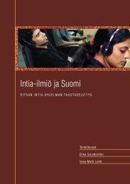 Intia-ilmiö ja Suomi - Sitra