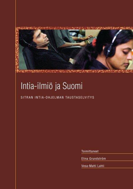 Intia Ilmio Ja Suomi Sitra