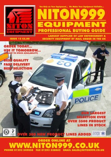 EASY wAYS tO ORDER - Niton 999 Equipment