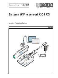 6409879 GBA XIOS XG WiFi-System und Sensoren ... - Sirona Support