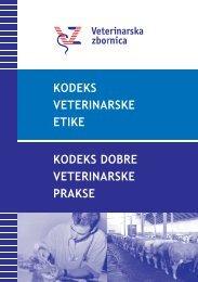 kodeks veterinarske etike - Veterinarska zbornica