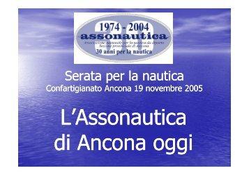 Presentazione Assonautica di Ancona - 2005