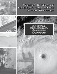 Chapter III Regional Behavioral Analysis Summary - South Florida ...