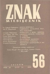 Nr 56, luty 1959 - Znak