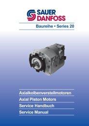 Baureihe • Series 20 - Sauer-Danfoss