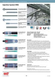 Injection System VMU - MKT Metall-Kunststoff-Technik GmbH & Co ...