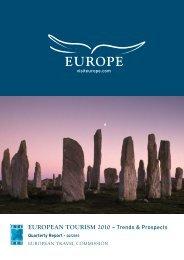 EUROPEAN TOURISM 2010 – Trends & Prospects - VisitBritain