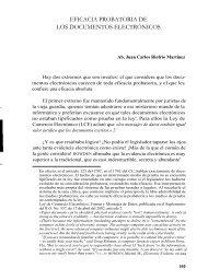 eficacia probatoria de los documentos electrónicos - Derecho Penal ...