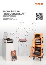 speisenausgabe/ speisenverteilung - Rieber GmbH & Co. KG