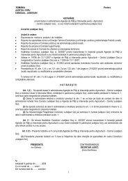 Proiect de hotărâre privind darea în administrare Agenţiei de Plăţi şi ...