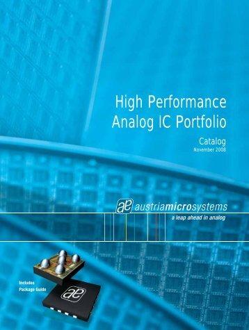 High Performance Analog IC Portfolio - SE Spezial-Electronic Sp. z o.o