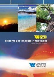 Sistemi per energie rinnovabili - idronicaline