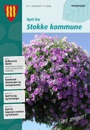 MAI-JUNI 2013 - Stokke kommune