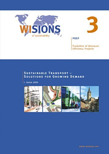 PREP 03 Sustainable Transport - WISIONS of Sustainability