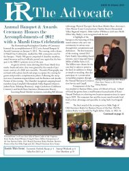 Annual Banquet & Awards Ceremony Honors the Accomplishments ...